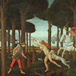 The History Painting Florence Botticelli Bad Dream Art