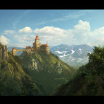 The Image Used For Showing Usual Matte Painting Techniques