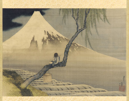 The Jrt Thoughts Japanese Paintings Hokusai