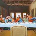 The Last Supper Leonardo Vinci Painting