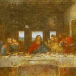 The Last Supper Oil And Tempera Plaster Santa Maria