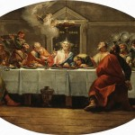 The Last Supper Painting Fontebasso Francesco Oil