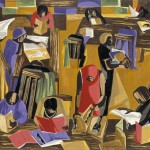 The Library Jacob Lawrence American Art