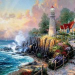 The Light Peace Thomas Kinkade Oil Painting Reproduction For Sale