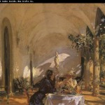 The Loggia John Singer Sargent China Wholesale Oil Painting