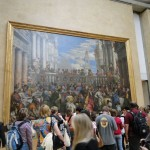The Louvre Largest Painting Kevin Viator