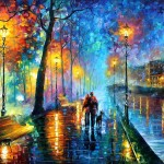 The Melody Night Leonid Afremov Sizzle Bacon