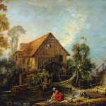 The Mill Fran Ois Boucher Artinthepicture