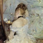 The Mirror Berthe Morisot China Oil Painting Gallery