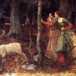 The Mystic Wood John William Waterhouse Wikipaintings