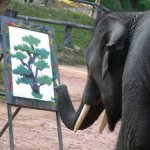 The Painting Elephants Not Elephant Paintings