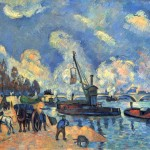 The Seine Bercy Paul Cezanne Wikipaintings