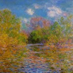 The Seine Near Giverny Claude Monet Wikipaintings