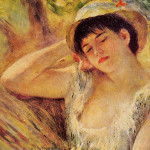 The Sleeper Pierre Auguste Renoir Wikipaintings