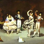 The Spanish Ballet Manet Edward Painting Famous Painters