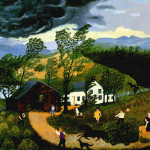 The Thunderstorm Grandma Moses Wikipaintings