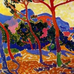The Trees Andre Derain Wikipaintings