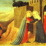 The Visitation Fra Angelico Painting Famous Painters