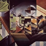 The Watch Sherry Bottle Juan Gris Wikipaintings
