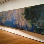 The Water Lily Pond Art Nyc Moma Monet Museum Manhattan Painting