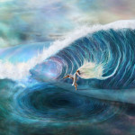 The Wave Painting Sabina Nore
