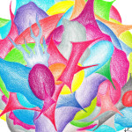 The World Jera Sky Free Art Giveaway Abstract Flower