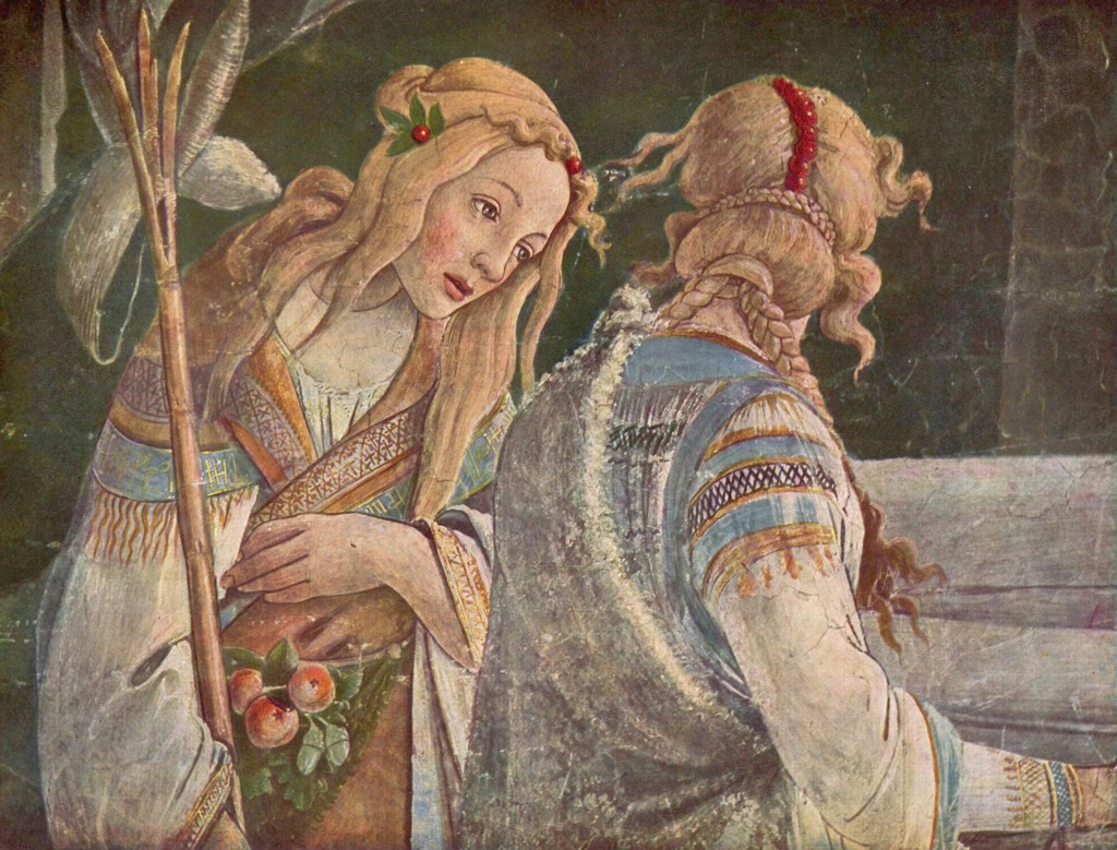 The Youth Moses Detail Sandro Botticelli Wikipaintings