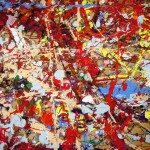 There Dragon Art Room Jackson Pollock Day The Mess