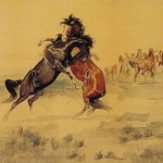 Thieves Oil Painting Reproduction The Horse