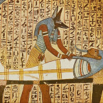 This Graph Tomb Wall Painting Depicts Scene From The