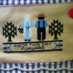 This Little Amish Cross Stitch Couple Says Their The Top