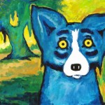 This Louisiana Artist Based His Blue Dog Paintings Cajun Legends