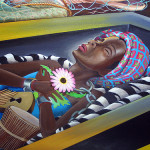 This Mural Covered Images Death And War The World Will