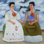This Oil Painting Frida Paints Herself Low Point Her Life