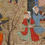 This Sixteenth Century Painting From Iran Depicts Allegorical Court