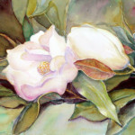 This Watercolor Painting Magnolia Was Posted First Blog