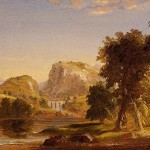 Thomas Cole Sketch For Dream Arcadia Art Painting Off