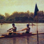Thomas Eakins Paintings The Biglin Brothers Turning