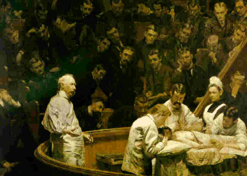 Thomas Eakins The Agnew Clinic