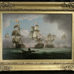 Thomas Engaged Combat Two Paintings Sold Pair