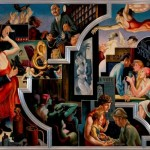 Thomas Hart Benton American City Activities Dance