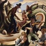 Thomas Hart Benton Oil Paintings