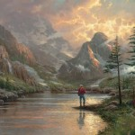 Thomas Kinkade Almost Heaven Painting Framed Paintings For Sale