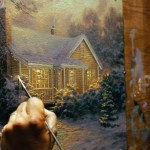 Thomas Kinkade Christmas Cottage Blu Ray