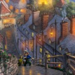 Thomas Kinkade Pinocchio Wishes Upon Star