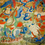 Tibetan Buddhist Wall Painting Sandeep Thoppil Architecture