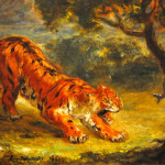 Tiger And Snake Eugene Delacroix Wikipaintings