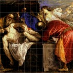 Titian Wonderful Work Squared For Copying