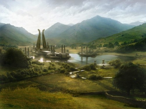 Title Matte Painting Water Temple Author Chih Han Hsu