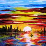 Traditional Art Paintings Landscapes Scenery Cleicha